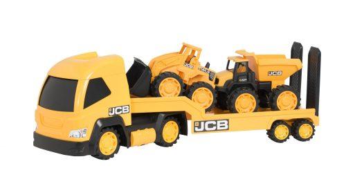 JCB rotaļlieta – Mega T-Sporter Kravas vilcējs ar pašizgāzēju un iekrāvēju