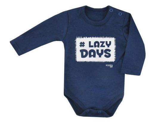 KOALA Bodijs LAZY DAYS 07-396, 74.izm zils