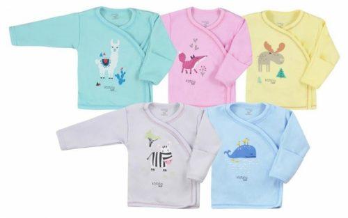 KOALA Jaciņa/krekliņš HAPPY BABY 07-502, 62.izm dažādas krāsas ( zilas , rozā, pelēkas, tirkīzs, dzeltans)