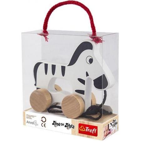 TREFL WOODEN TOYS Stumjama rotaļlieta Zebra