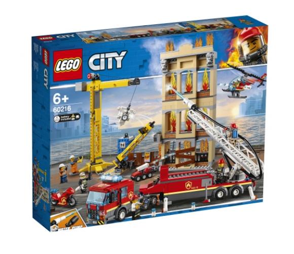 LEGO® City Fire Pilsētas centra ugunsdzēsēju brigāde