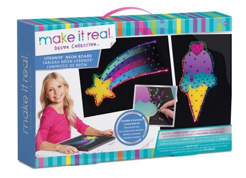 Make It Real Radošais komplekts ar neona gaismu