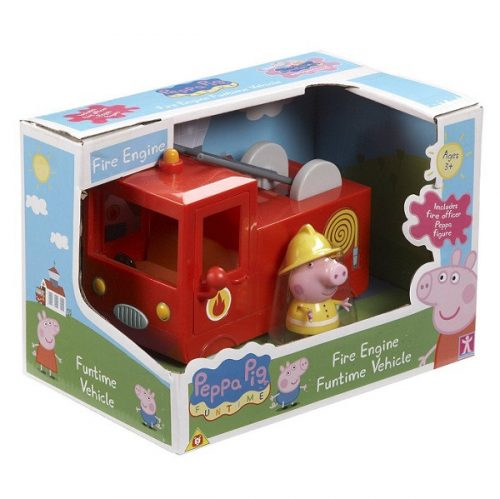 "Peppa Pig Komplekts ""Ugunsdzēsēju mašīna"""