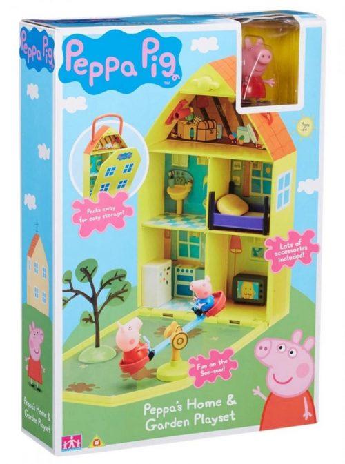 Peppa Pig Pepos Māja ar dārzu