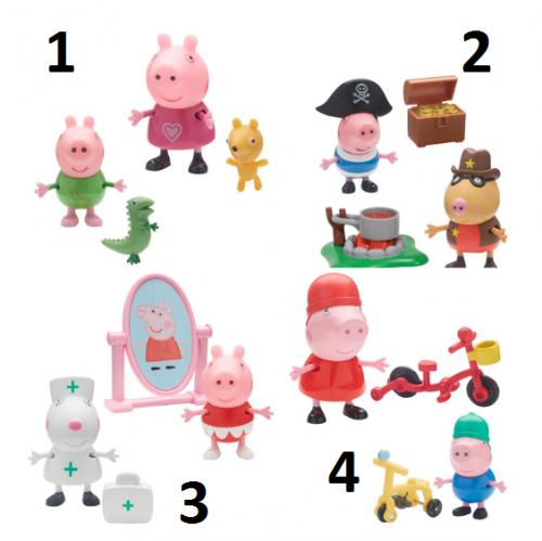 Peppa Pig Varoņu figūras