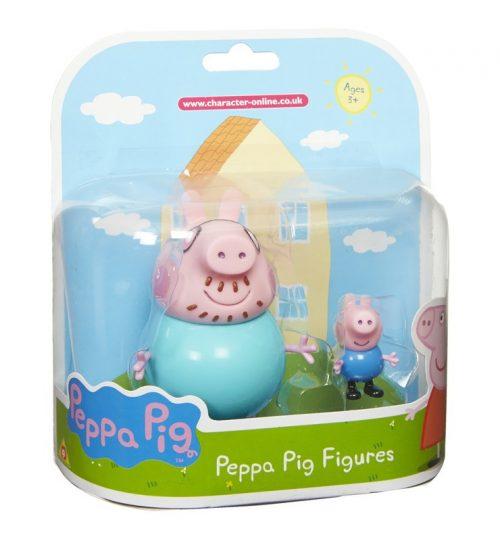 Peppa Pig rotaļu komplekts, 2 figūras