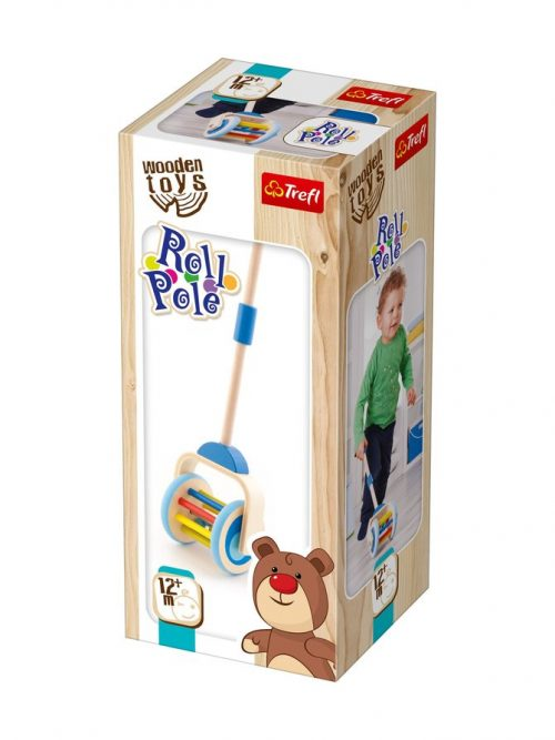 "TREFL WOODEN TOYS Stumjama rotaļlieta ""Roll Pole"""