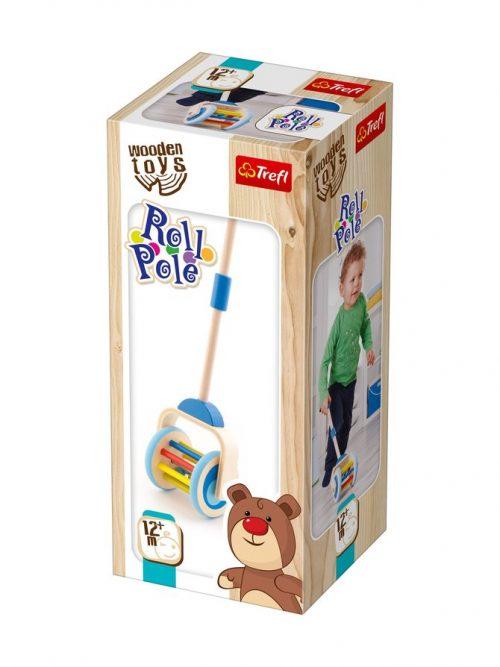 """TREFL WOODEN TOYS Stumjama rotaļlieta """"Roll Pole"""""""