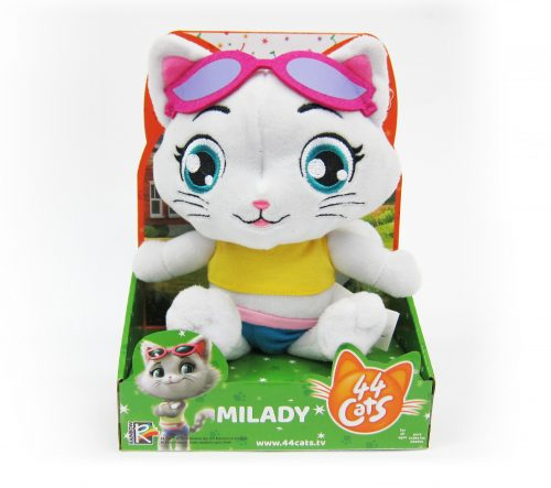 44 CATS Plīša rotaļlieta ar skaņu, 20 cm
