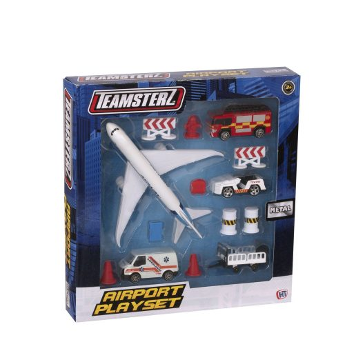 TZ 3″  rotaļlieta  Die-Cast Lidostas kompl.
