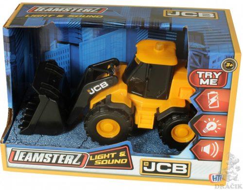 TZ JCB  rotaļlieta  Mazs Riteņu iekrāvējs ar gaismu un skaņu