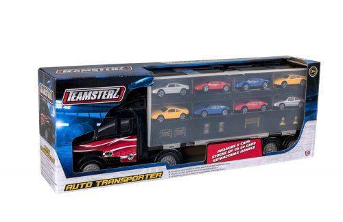 TZ rotaļlieta – 3″ Auto pārvadātājs ar 8 auto
