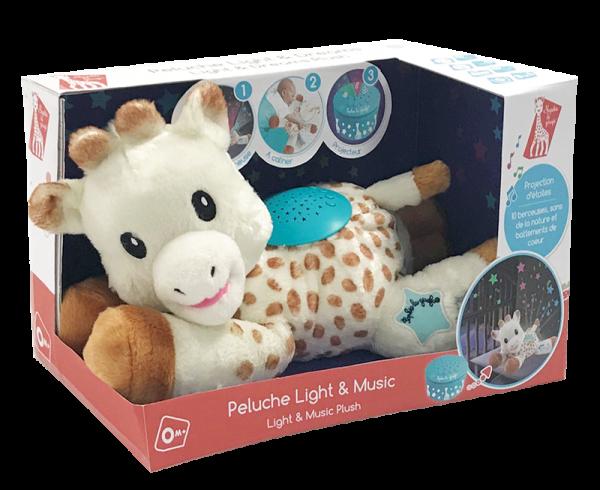 VULLI Sophie la girafe plīša rotaļlieta 0+ Light & Dreams