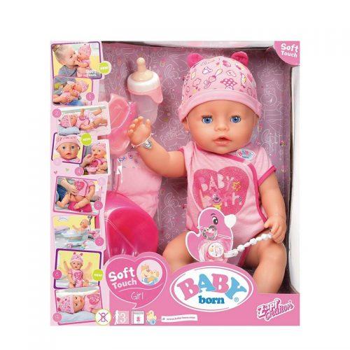 ZAPF Baby Born Soft Touch Interaktīvā lelle,  43 cm