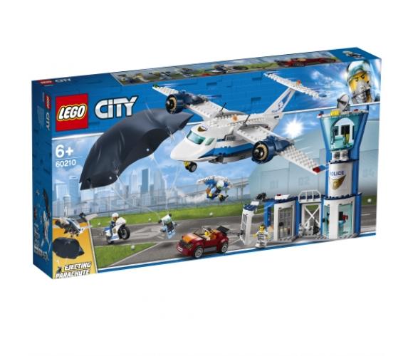 LEGO® City Gaisa policijas gaisa spēku bāze