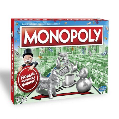 HASBRO Galda spēle Monopoly Classic (RUS)