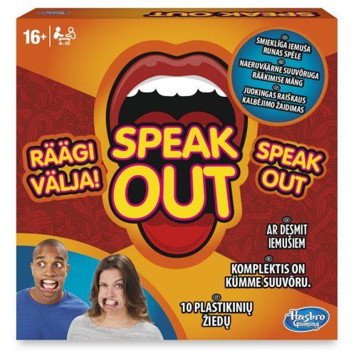"""HASBRO Galda spēle """"Speak Out"""", latv.val."""