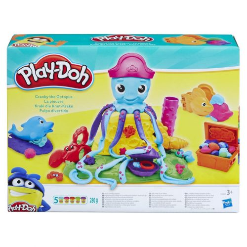 HASBRO PLAY-DOH Astoņkājis