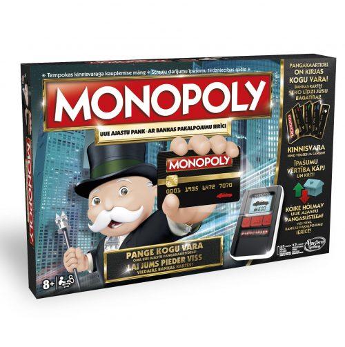 Hasbro Monopoly Elektroniskā versija, latv. val.