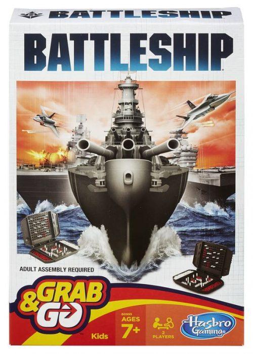"""Hasbro Spēle """"Kuģu kauja"""", ceļojumu versija (BALTICS + RUS)"""