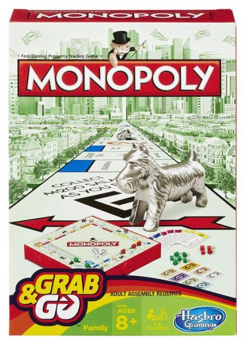 Hasbro Spēle Monopoly, ceļojumu formāts (BALTICS + RUS)