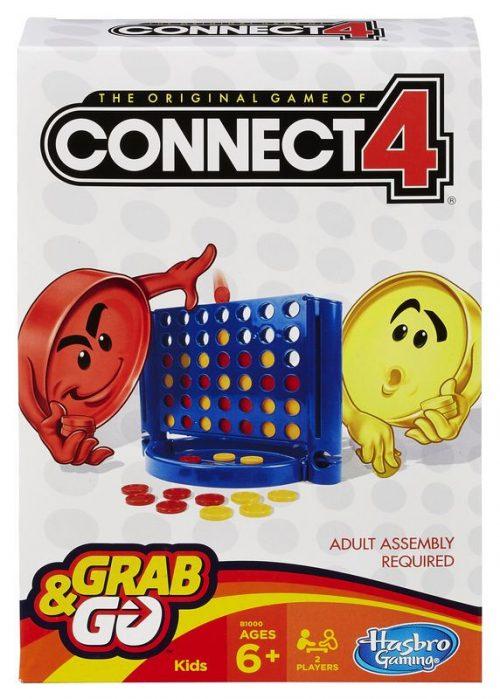 Hasbro Spēle Savieno 4 (Connect 4), ceļojumu formāts (BALTICS + RUS)