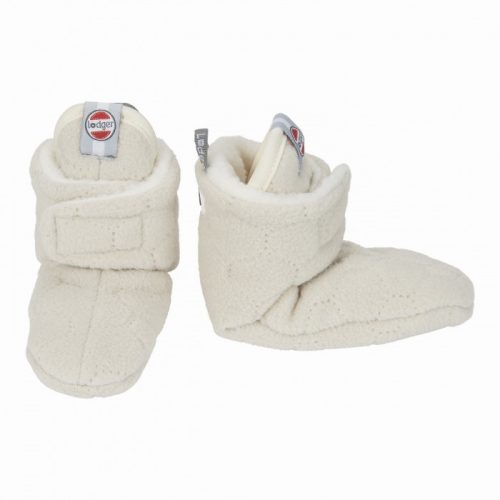 LODGER SLIPPER FLEECE BOTANIMAL ČĪBIŅAS, 6-12M, IVORY