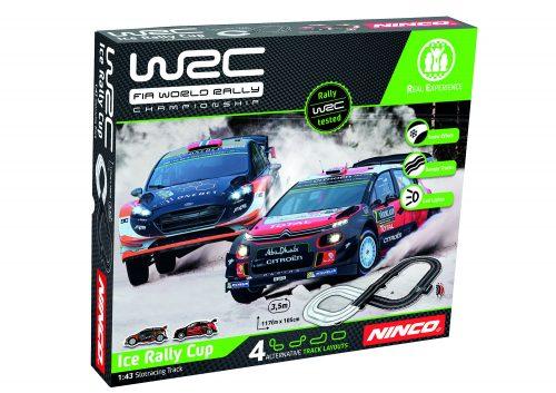 NINCO WRC Iсe Rally Cup trase