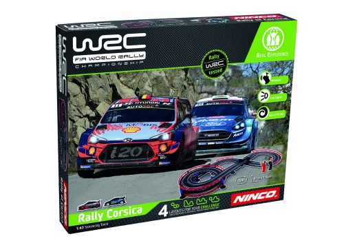 NINCO WRC Rally Corsica trase