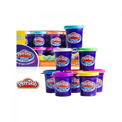 Play-Doh Plus Plastilīna komplekts, 8 krāsas