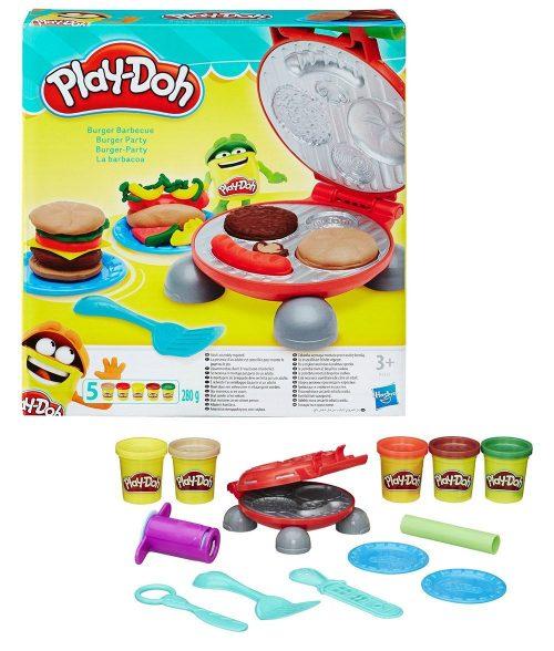 Play-doh plastilīns Burger grils