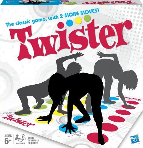 Spēle Tvisters (Twister)(BALTICS + RUS)