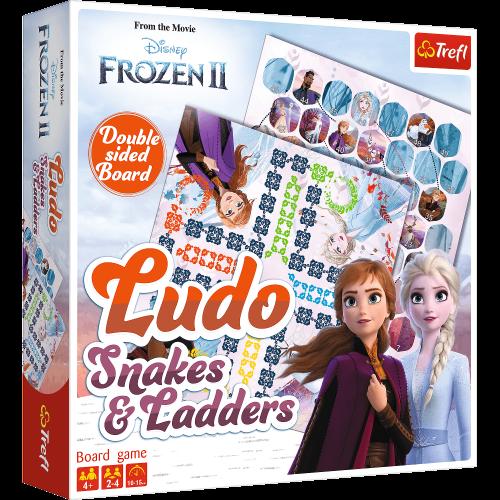 TR Frozen 2 Ludo/Snakes&ladders galda spēle BALT FIN