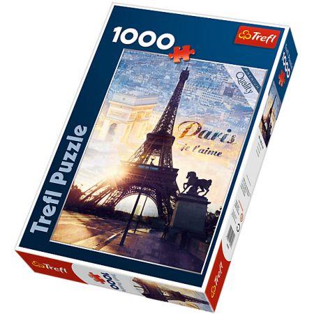 TREFL Puzle Parīze, 1000 gb.