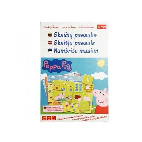 "TREFL Spēle Peppa Pig ""Cipari"""
