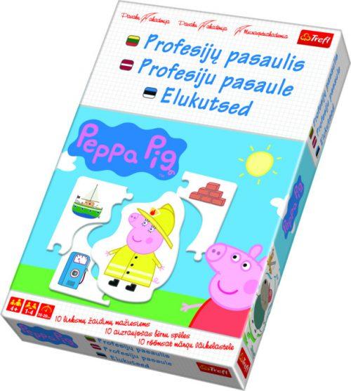 "TREFL spēle Peppa Pig ""Profesiju pasaule"""