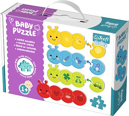 """Trefl Baby puzle """"Krāsas"""""""