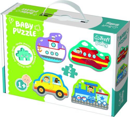"""Trefl Baby puzle """"Mašīnas"""""""
