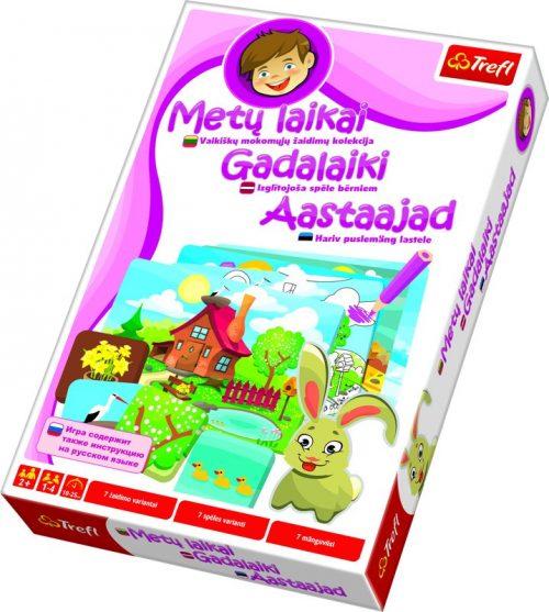"Trefl bērnu spēle ""Gadalaiki"", visas valodās (BALT)"