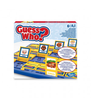 "HASBRO Galda spēle ""Uzmini kurš?""(EE, LV, LT, RU, EN)"