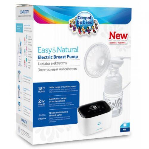 CANPOL BABIES elektriskais krūts pumpis Easy & Natural, 12/207