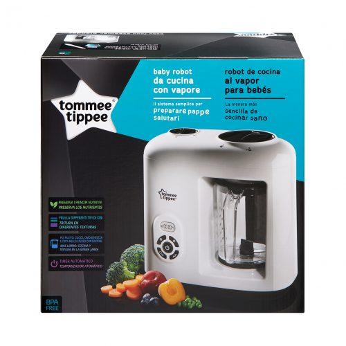 TOMMEE TIPPEE ēdiena blenderis un tvaicētājs 3in1