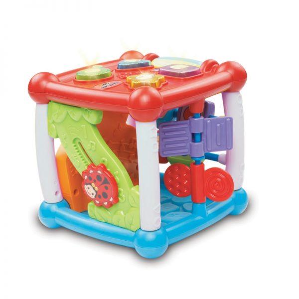 VTECH attīstoša rotaļlieta Turn & Learn kubs, 80-150503
