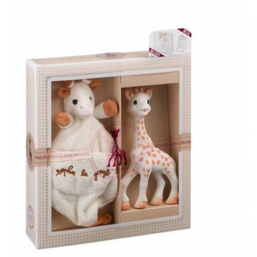 VULLI komplekts Sophie la Girafe + miega rotaļlieta 000003