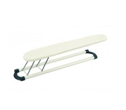 BRABANTIA pamatne piedurkņu gludināšanai, 60×10 cm, Ecru / White Frame