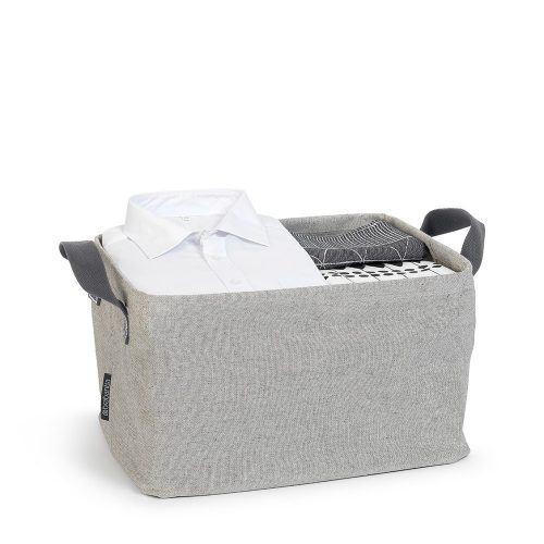 BRABANTIA veļas soma salokāma, grey