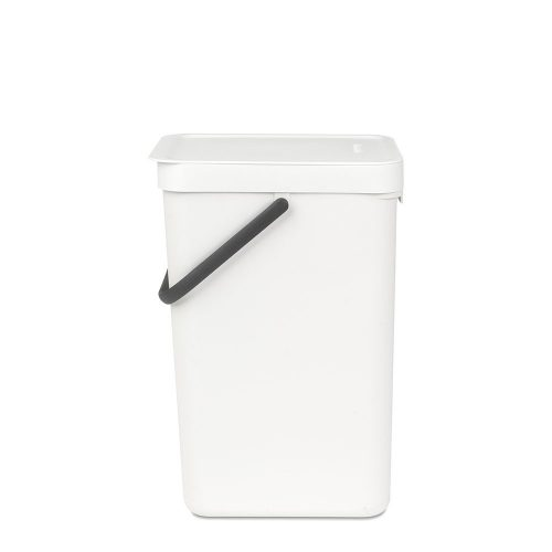 BRABANTIA atkritumu tvertne Sort & Go, 16 l, white