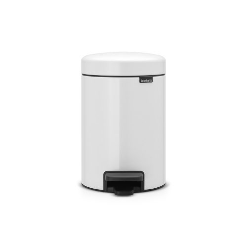 BRABANTIA atkritumu tvertne ar pedāli NewIcon, 3 l, White