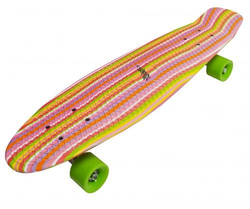 No Rules Skateboard fun Deluxe Rainbow skrituļdēlis