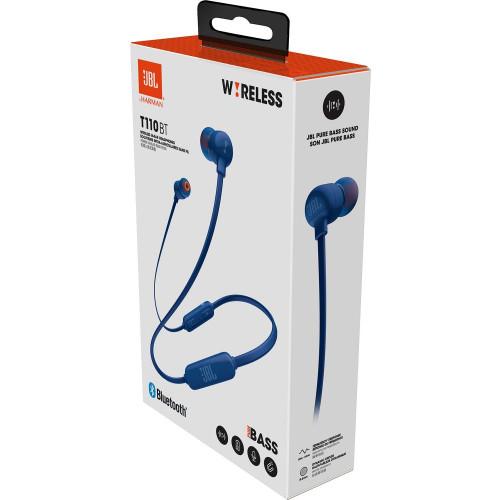 JBL in-ear austiņas ar Bluetooth, zilas